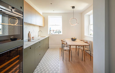 maida vale, little venice, W9, westminster, renovation, refurbishment interior, structural, kitchen, kitchen design, kitchen installations